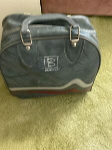 Brunswick Bowling ball in bag And size 7 women's shoes