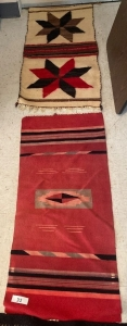 2 Native American rugs