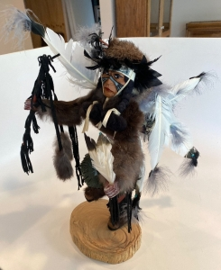 "Native American 18"" Kachina doll ""Fancy Dancer"""