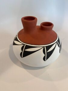 Acoma, New Mexico pottery vase