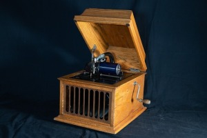 Antique Edison Amberol Cylinder Phonograph