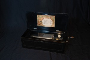 Antique Jacot music box