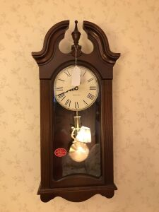 Howard Miller wall clock with Westminster Chimes