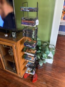 Pair of Wire DVD stands