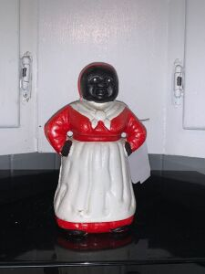 Cast-iron Aunt Jemima Coin Bank