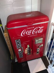 Reproduction Coke Cola cooler