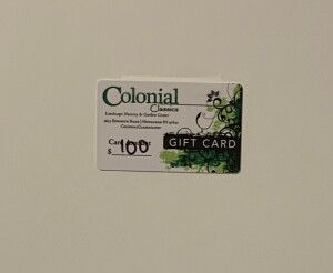 Colonial Gift Card
