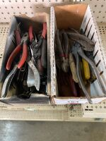 Pliers; Allen wrenches; snap ring pliers