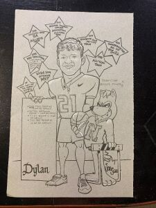 Your Own Personal Caricature drawn by Mr. Jon Siau