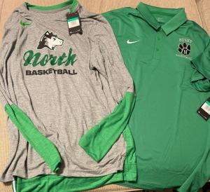 Nike Long Sleeve and Coaches Polo