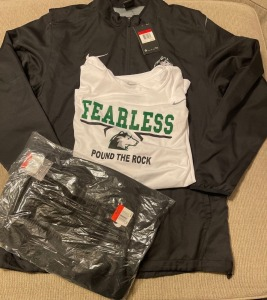Team Issued Travel Suite and Long Sleeve Bundle
