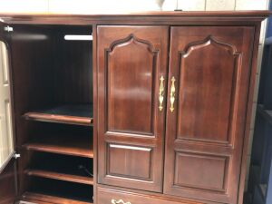 Nice entertainment cabinet