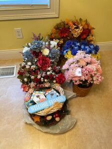 Floral items and wreaths