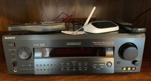 Sony receiver, jvc turntable, Sony dual cassette