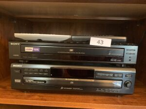 Sony dvd & vhs players