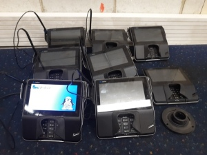 8 Verifone card readers