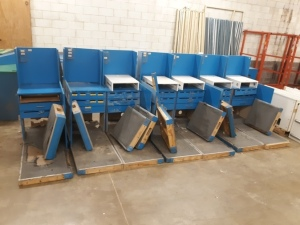 "7 Register counters 65"" long"