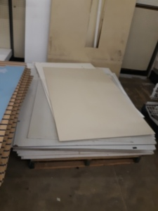 33 sheets of panneling