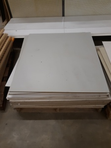 46 sheets panneling