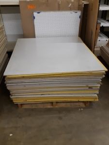 88 sheets panneling