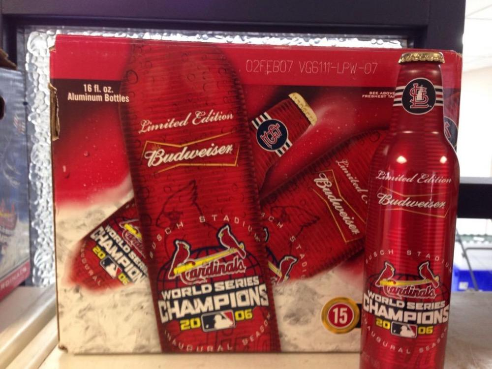 Lot 526 Of 377 Budweiser 14 Limited Edition 2006 World Series Cahmpions St Louis Cardinals W Case