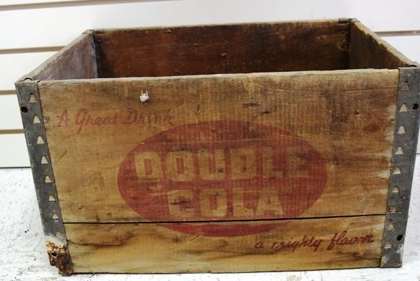 Double Cola Wood Box