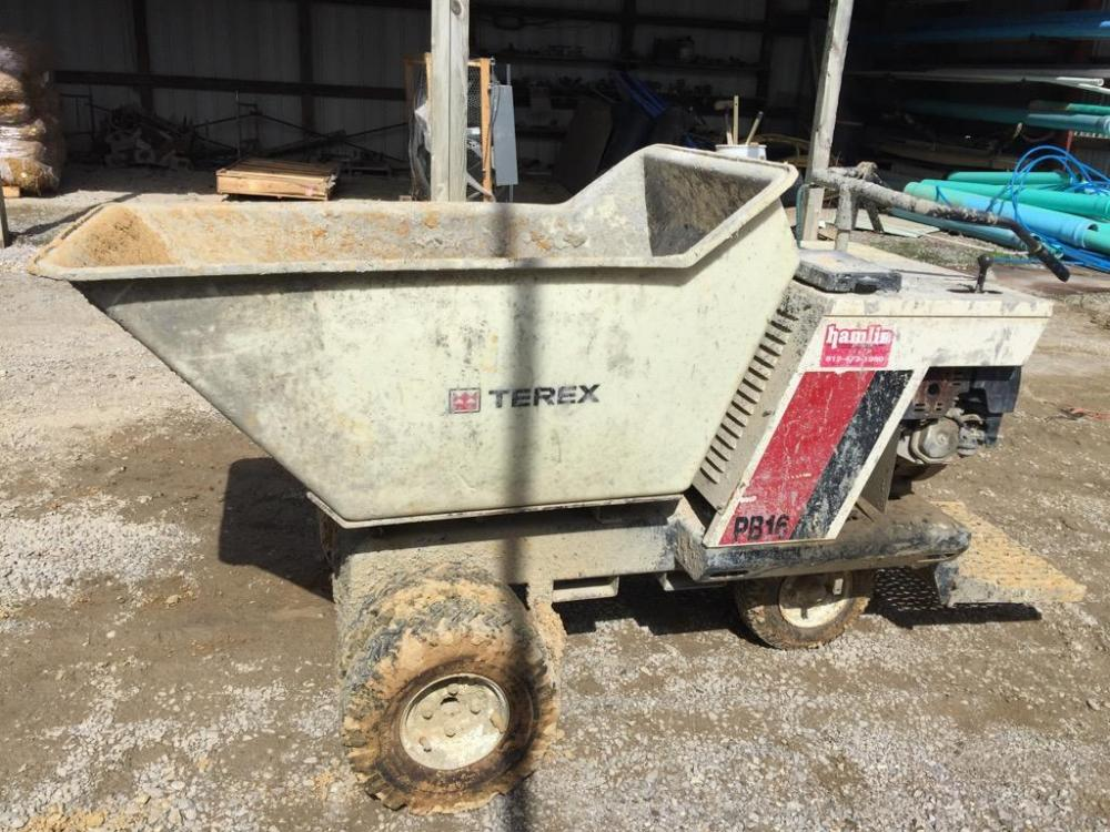 Terex PB16 concrete buggy