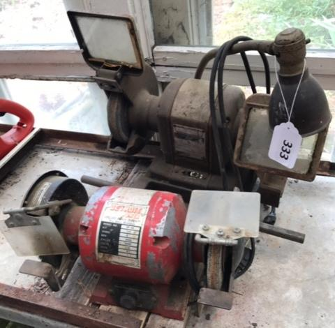 Remarkable Detroit Power 1 2 Hp Bench Grinder 1 2 Hp Ball Bearing Pdpeps Interior Chair Design Pdpepsorg