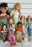 Collection of Vintage Dolls