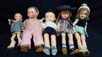 Vintage Collextion of Effenbee Dolls