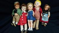 Vintage Collection of Dolls