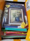 Lot of vintage arts and crafts books
