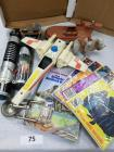 Vintage Star Wars collectibles; comic books