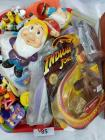 Miscellaneous lot of vintage children's toys; miniatures; collectibles