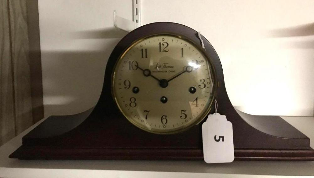 Lot 5 Of 297 Seth Thomas Westminster Chime Mantle Clock