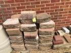 Lot of landscaping stone; plastic pots